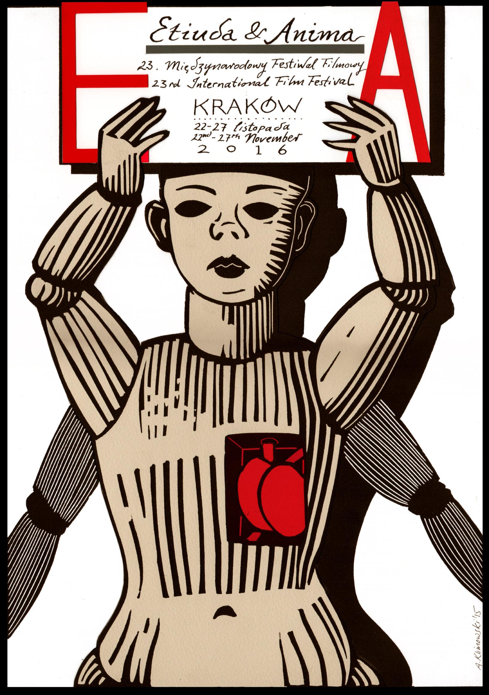 """""""23. Międzynarodowy Festiwal Filmowy Etiuda&Anima"""" (źródło: materiały prasowe organizatora)"""