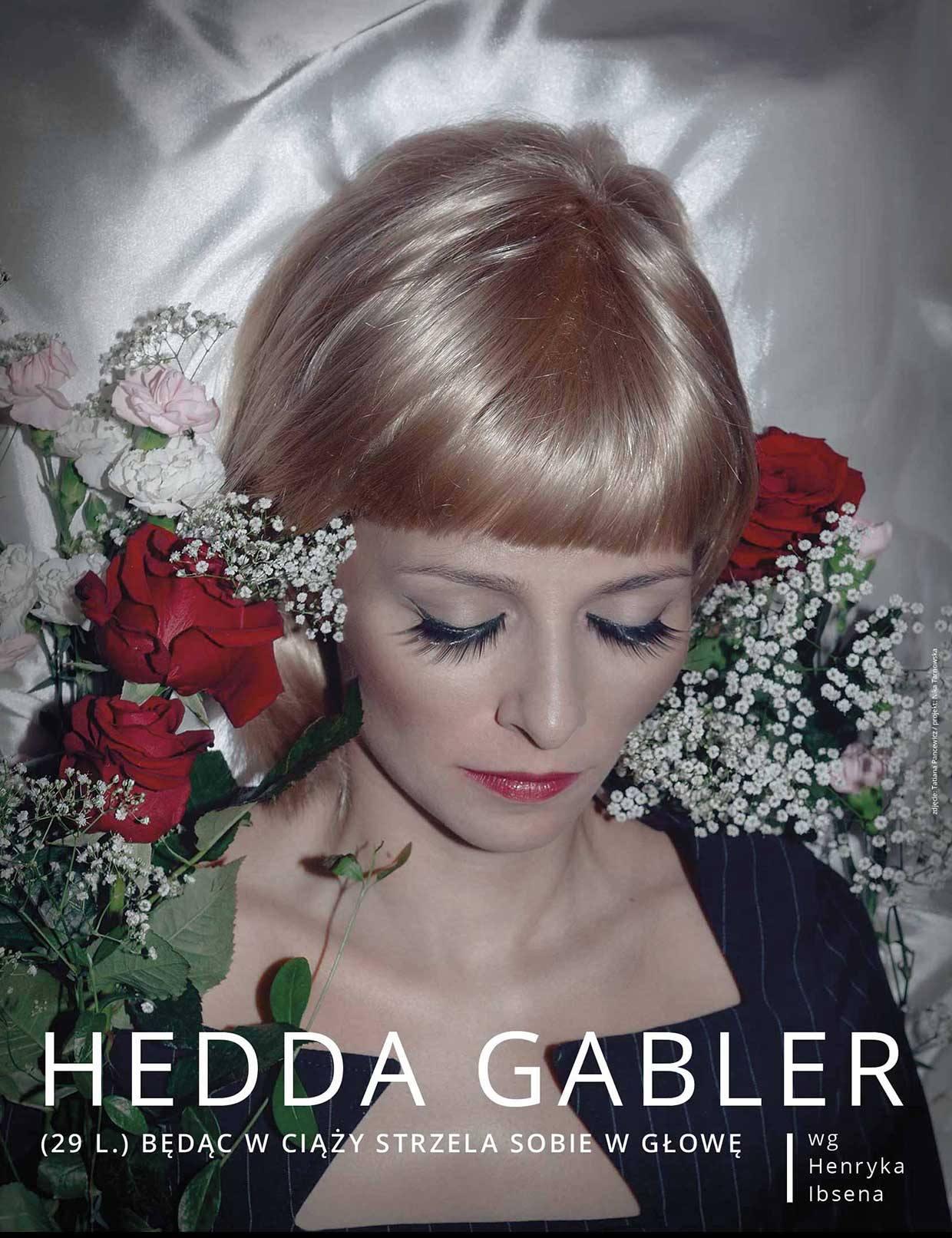 """Hedda Gabler"" – plakat (źródło: materiały prasowe organizatora)"