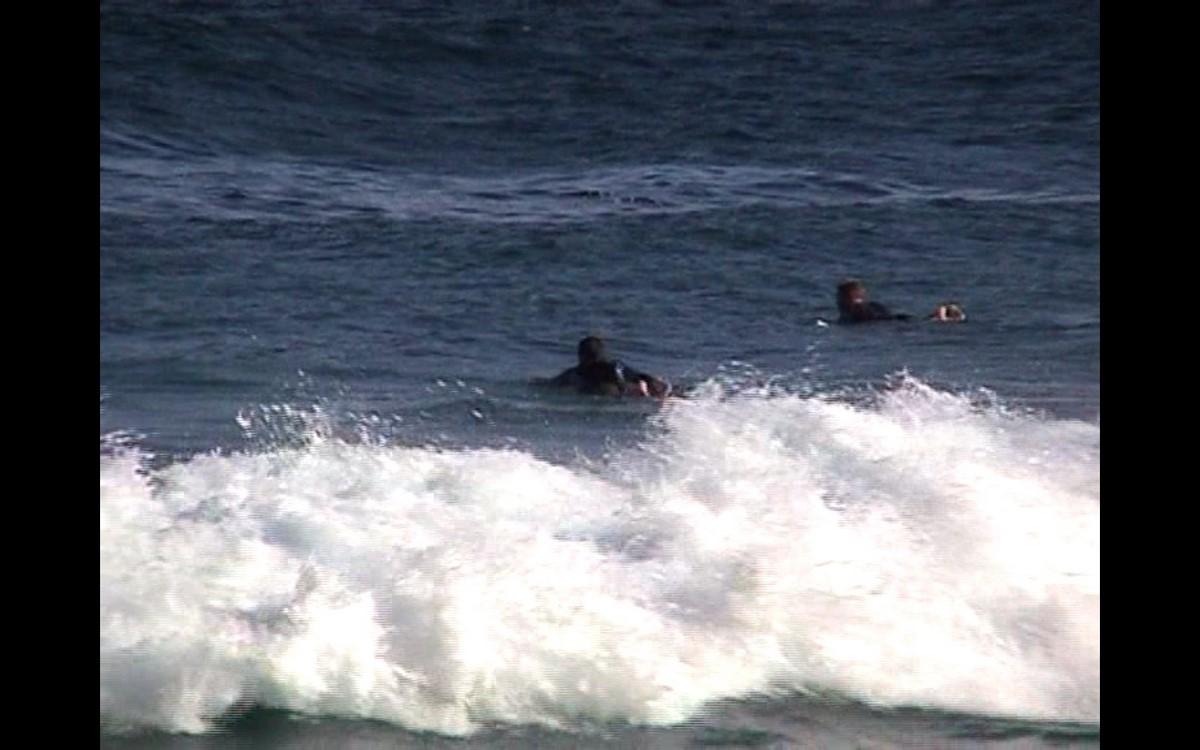 """Beat Streuli, """"Surferzy z Tamaramy"""", 2007 (źródło: materiały prasowe organizatora)"""