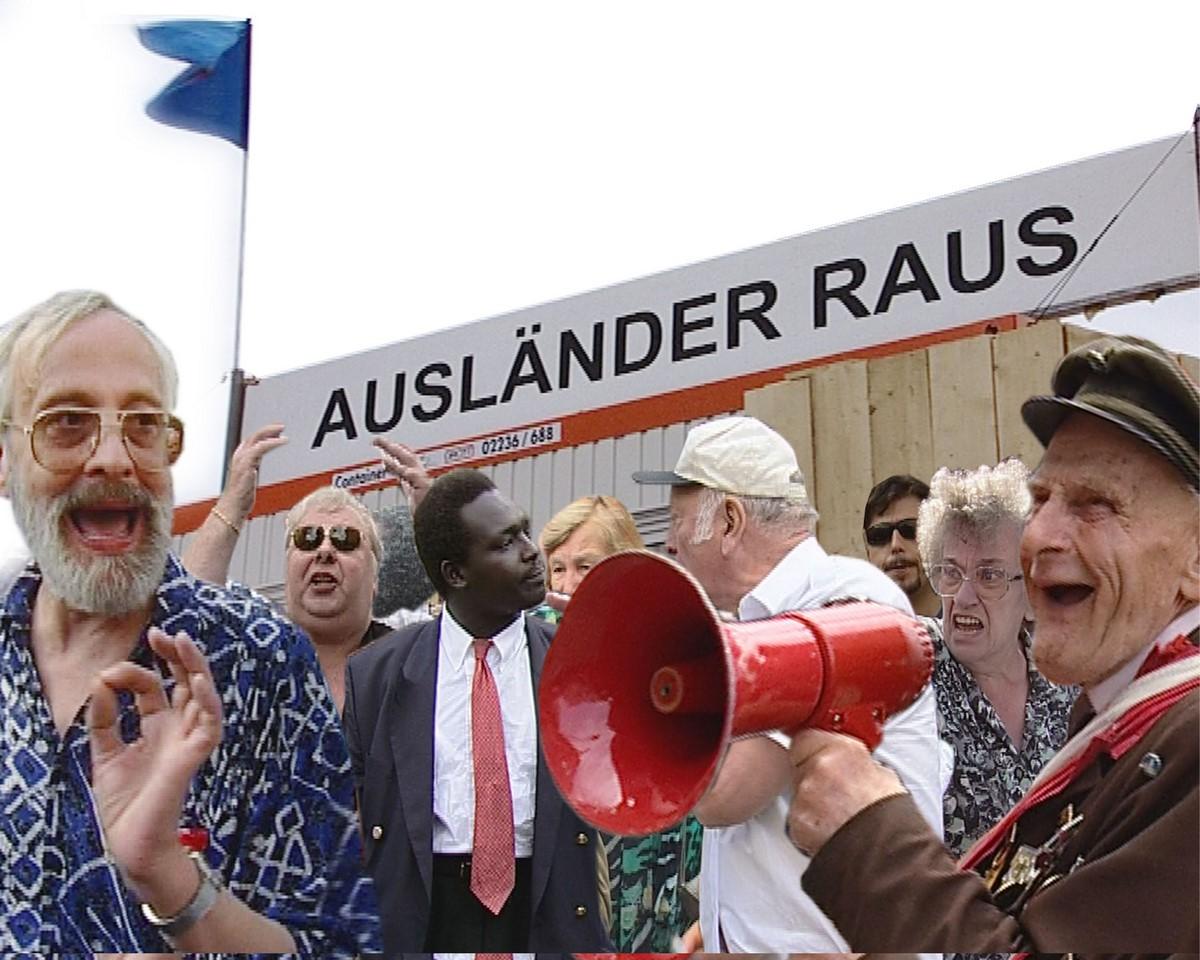 "Christoph Schlingensief ""Auslander raus von Paul poet"" (źródło: materiały prasowe organizatora)"