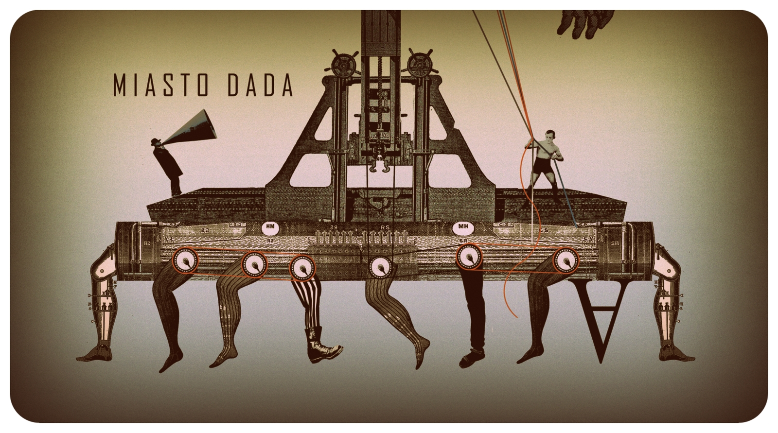 """""""Miasto Dada"""" (źródło: materiały prasowe organizatora)"""