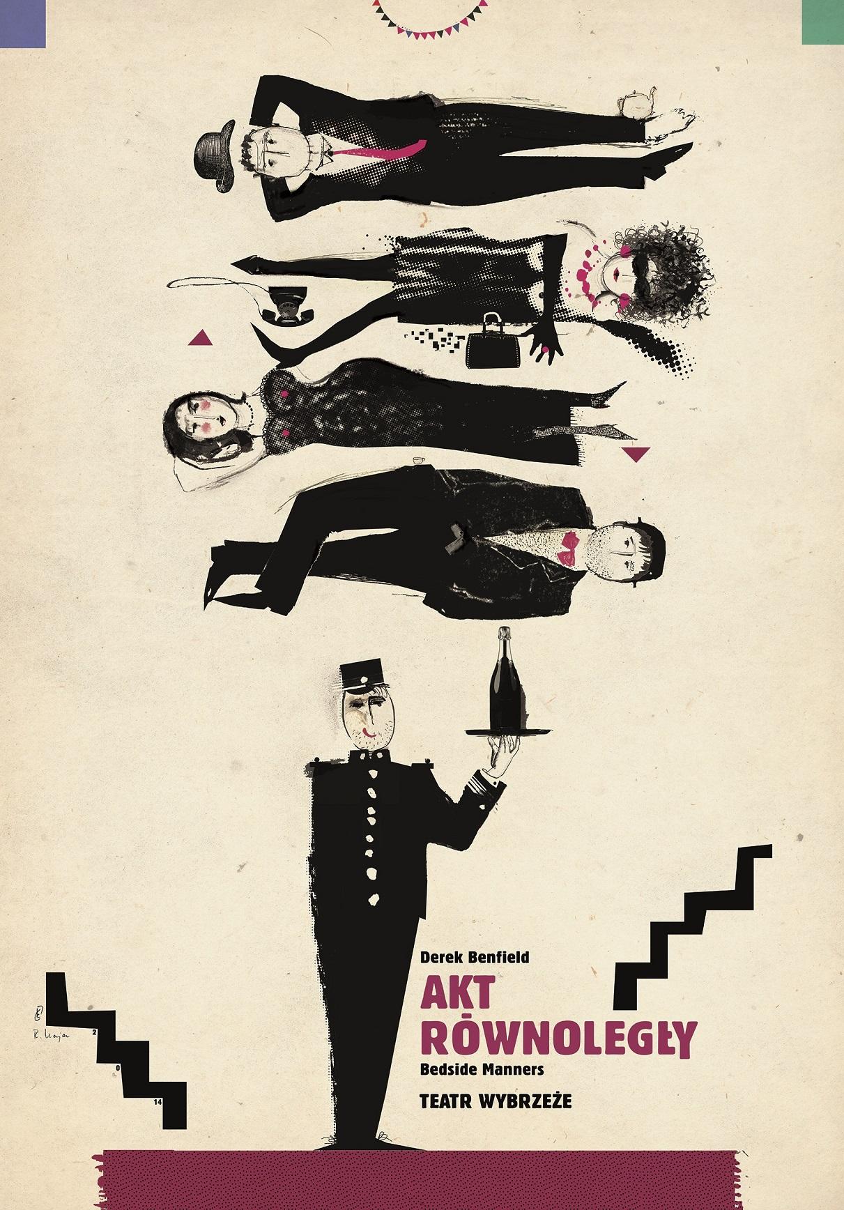 """Akt równoległy"" – plakat (źródło: materiały prasowe organizatora)"