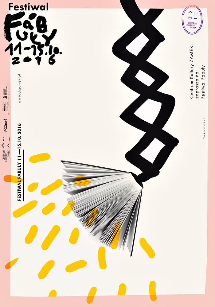 Festiwal Fabuły, plakat (źródło: materiały prasowe organizatora)