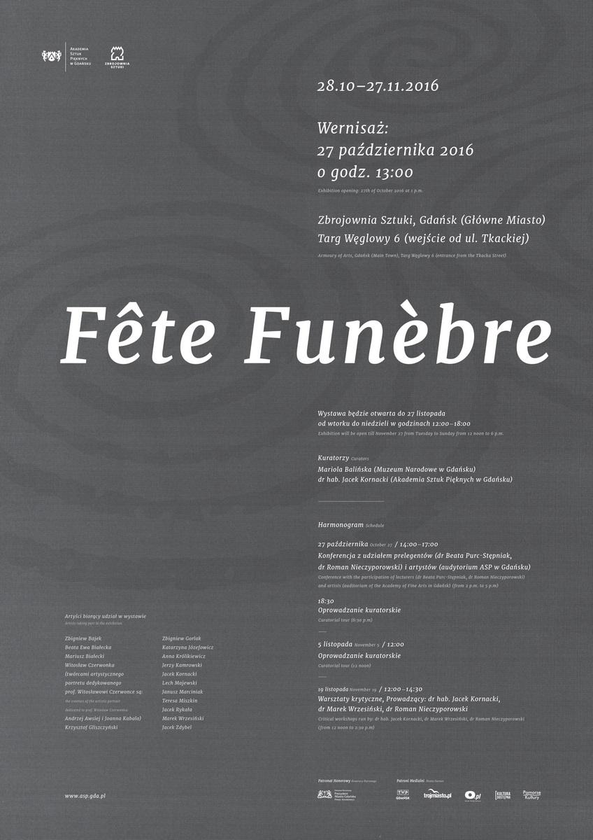 """Fête Funèbre"" (źródło: materiały prasowe organizatora)"