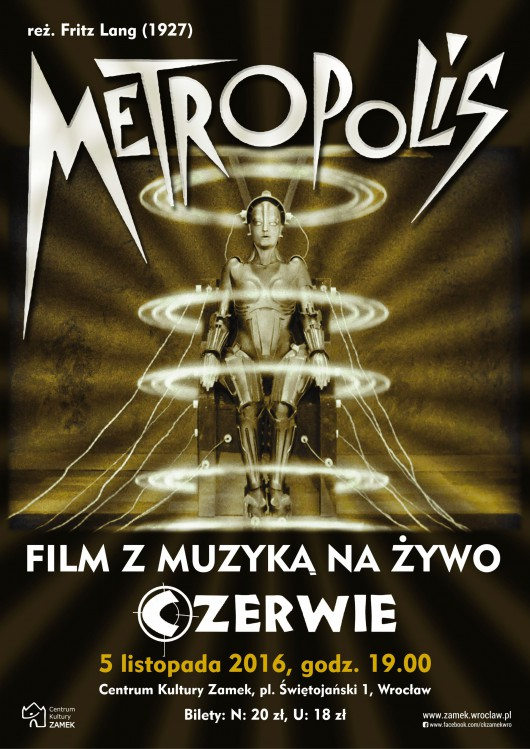 """""""Metropolis"""" – plakat (źródło: materiały prasowe organizatora)"""