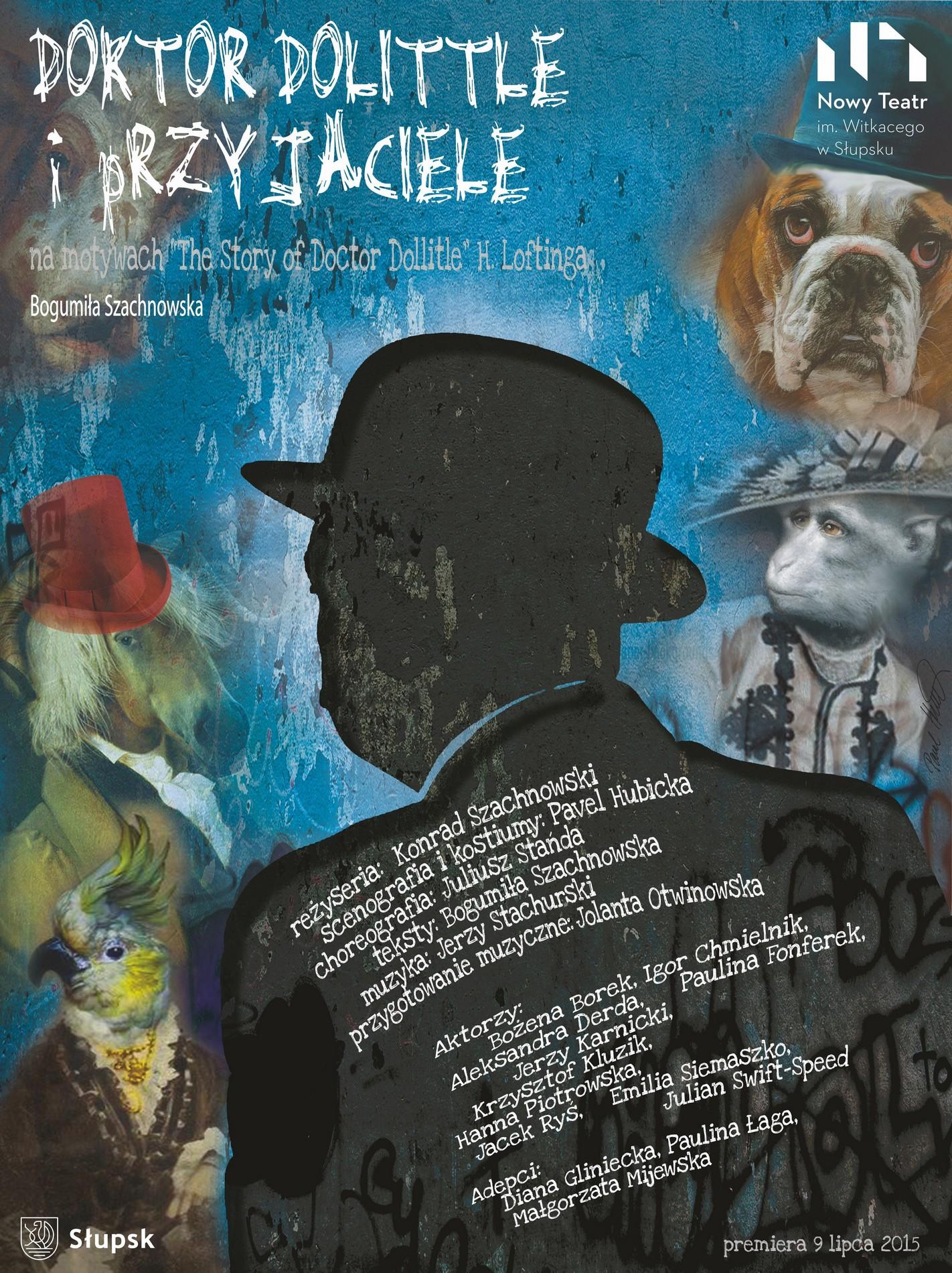 """""""Doktor Dollitle i przyjaciele"""" – plakat (źródło: materiały prasowe organizatora)"""