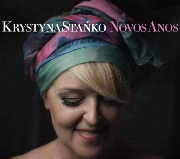 """Krystyna Stańko, """"Novos Anos"""" – okładka płyty (źródło: materiały prasowe wydawcy)"""