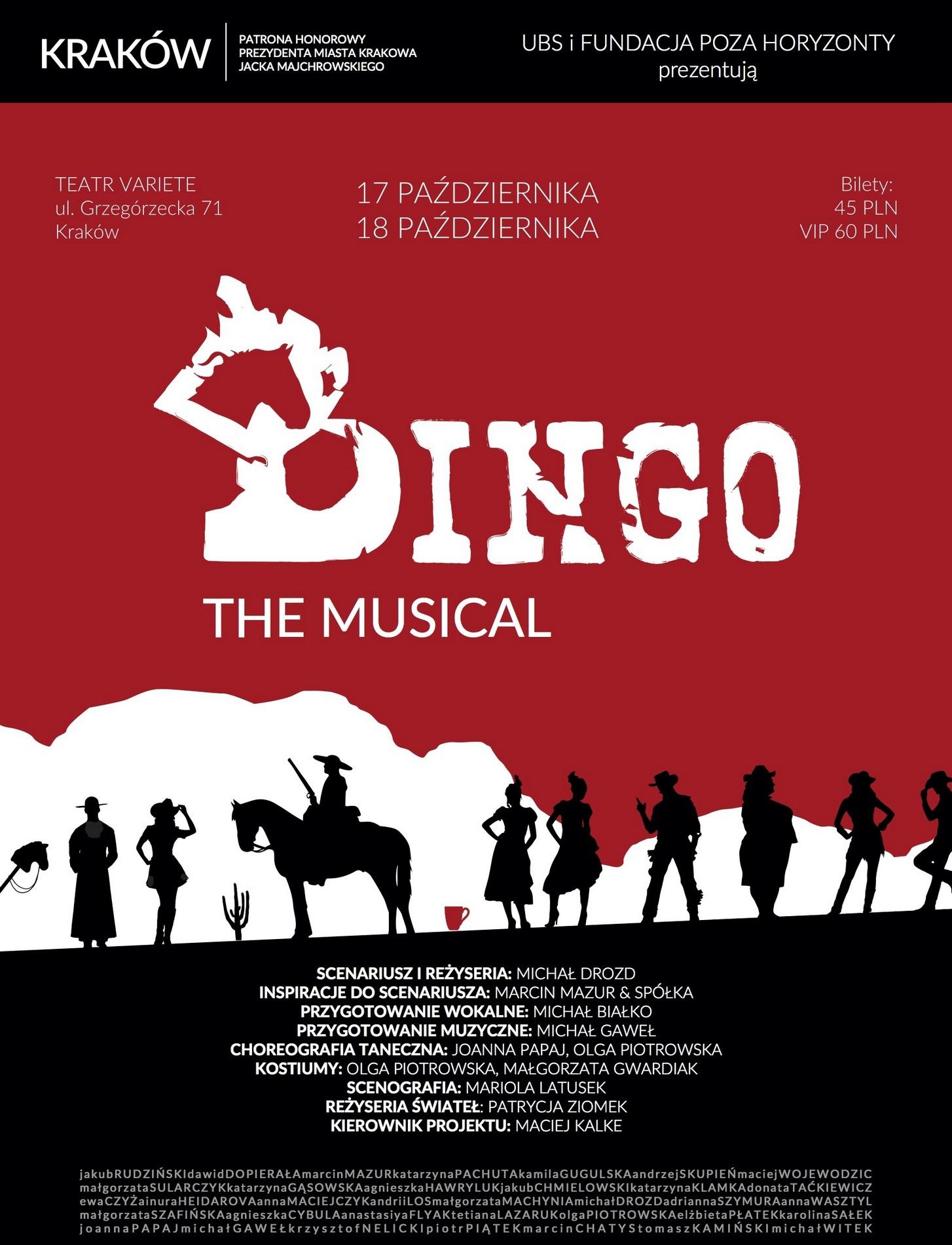"""""""Dingo"""" – plakat (źródło: materiały prasowe organizatora)"""