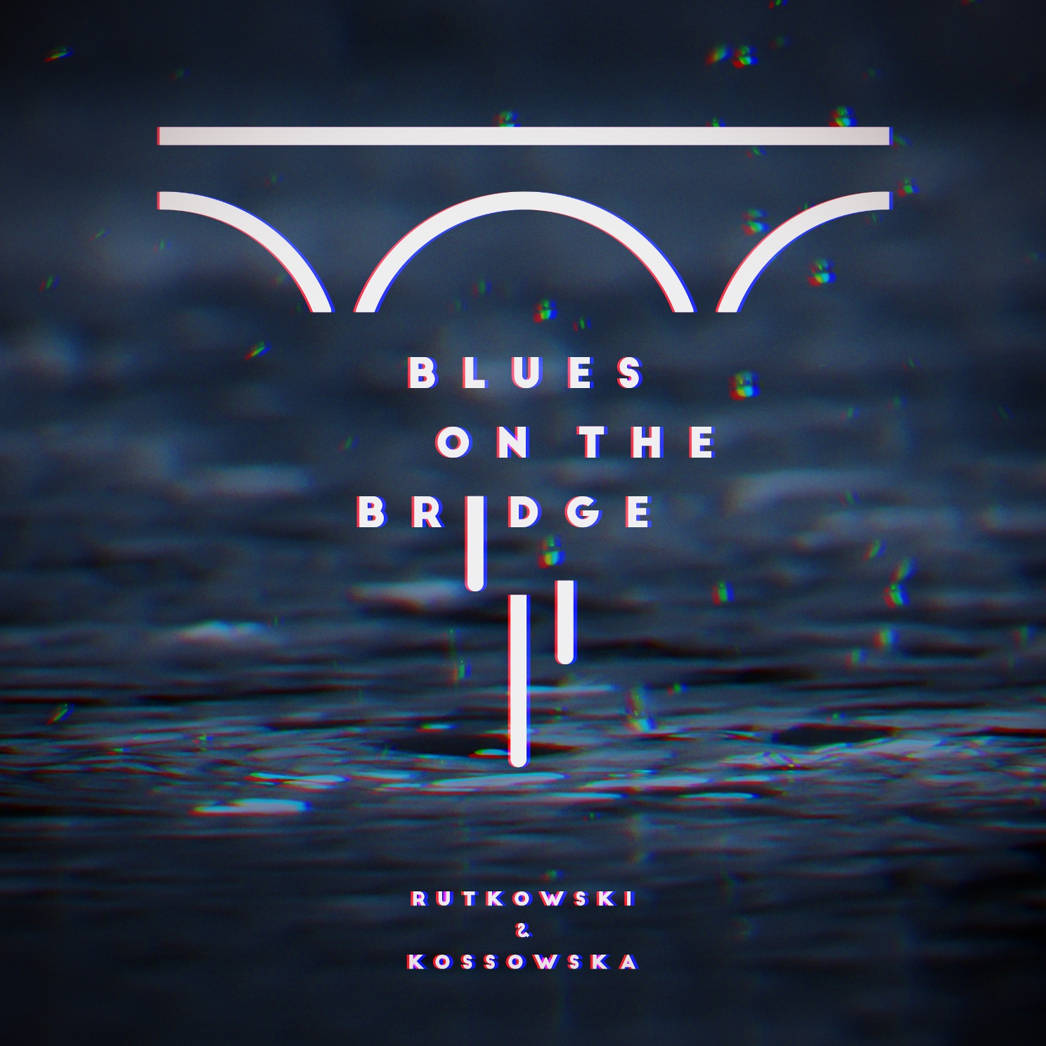 """Miłosz Rutkowski, """"Blues On The Brigde"""" – okładka płyty (źródło: materiały prasowe wydawcy)"""