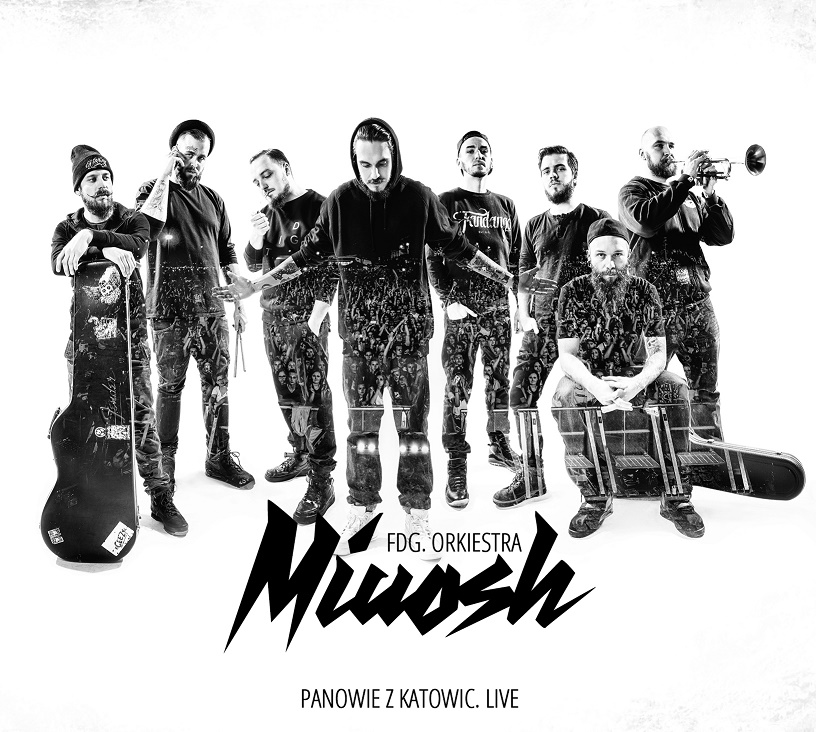 """Miuosh, """"Panowie z Katowic Live"""" – okładka płyty (źródło: materiały prasowe wydawcy)"""