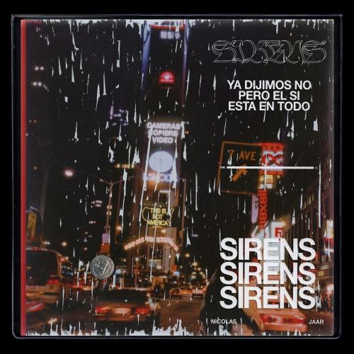 """Nicolas Jaar, """"Sirens"""" – okładka płyty (źródło: materiały prasowe wydawcy)"""