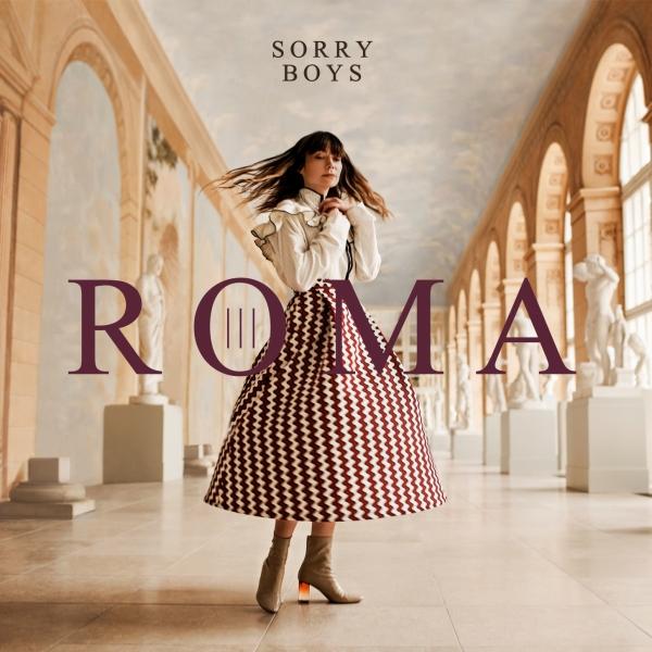 """Sorry Boys, """"Roma"""" – okładka płyty (źródło: materiały prasowe wydawcy)"""