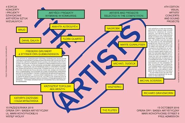 """""""The Artists"""" (źródło: materiały prasowe organizatora)"""