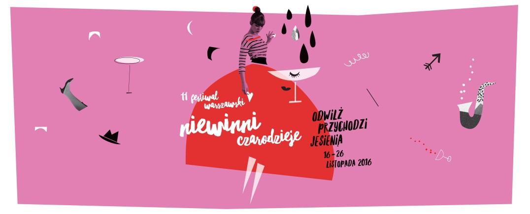 """""""11. Festiwal Warszawski Niewinni Czarodzieje"""" – plakat (źródło: materiały prasowe organizatora)"""