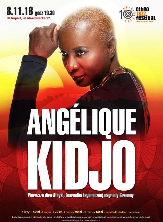 Angélique Kidjo – plakat (źródło: materiały prasowe organizatora)
