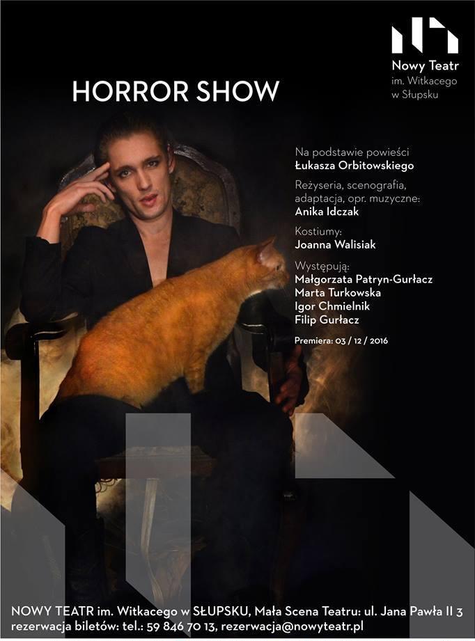 """""""Horror Show"""" – plakat (źródło: materiały prasowe organizatora)"""