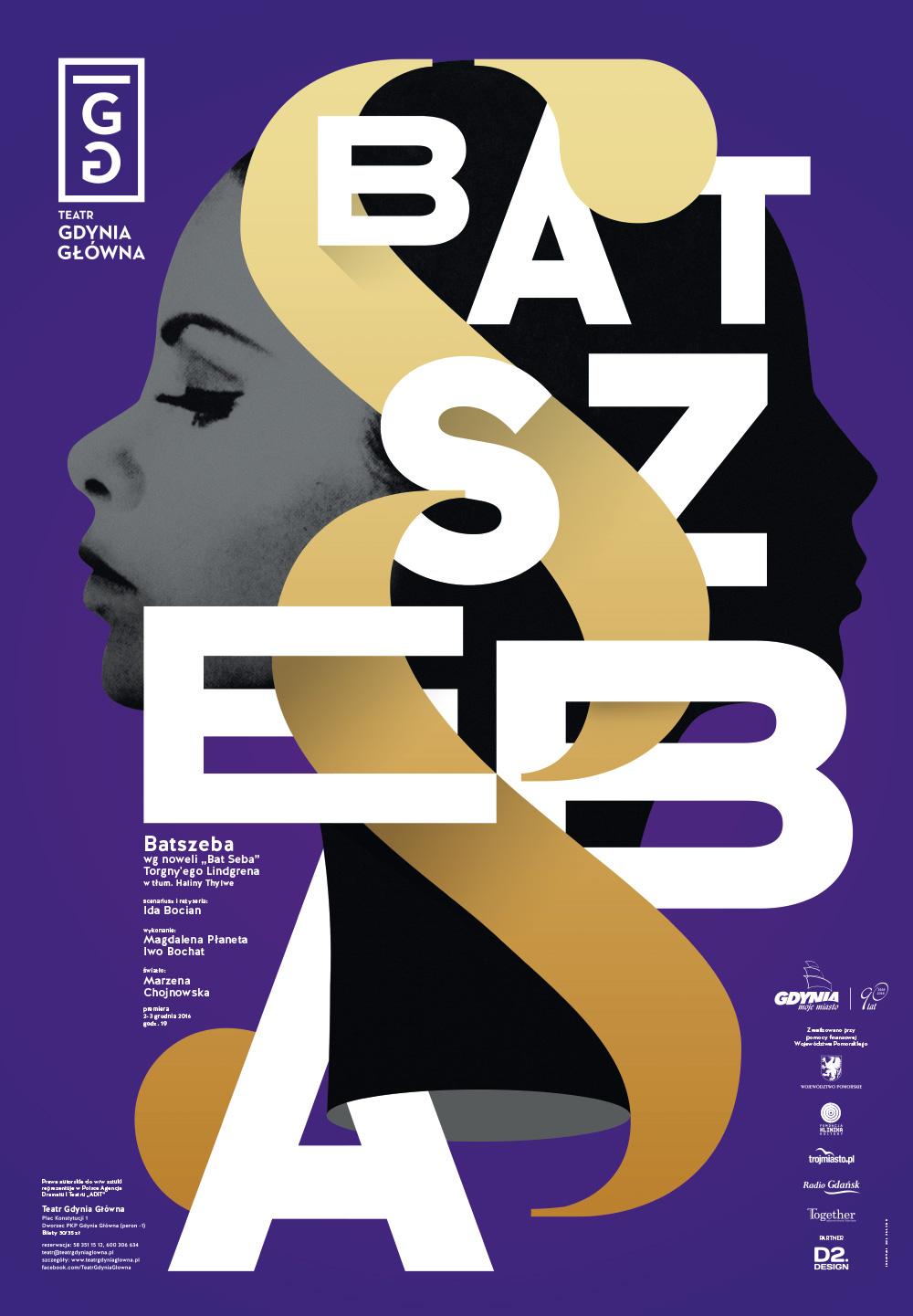 """""""Batszeba"""" – plakat (źródło: materiały prasowe organizatora)"""