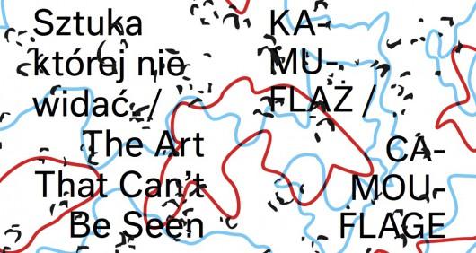 """""""KA-MU-FLAŻ. Sztuka której nie widać"""" (źródło: materiały prasowe organizatora)"""