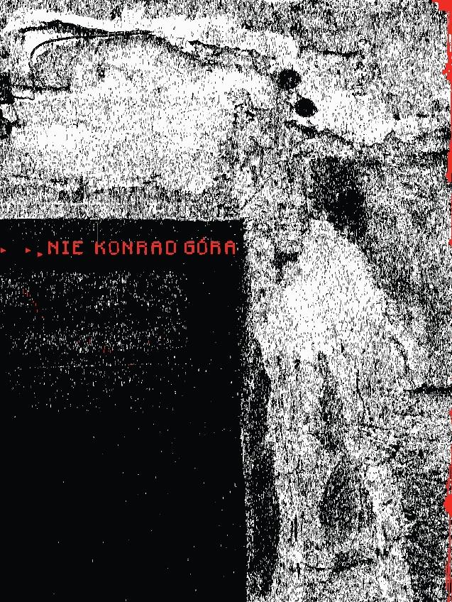 """Konrad Góra, """"Nie"""", okładka (źródło: materiały prasowe)"""