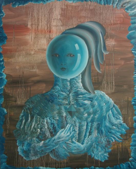 """Małgorzata Wielek-Mandrela, """"Bombka"""", 2015 (źródło: materiały prasowe organizatora)"""
