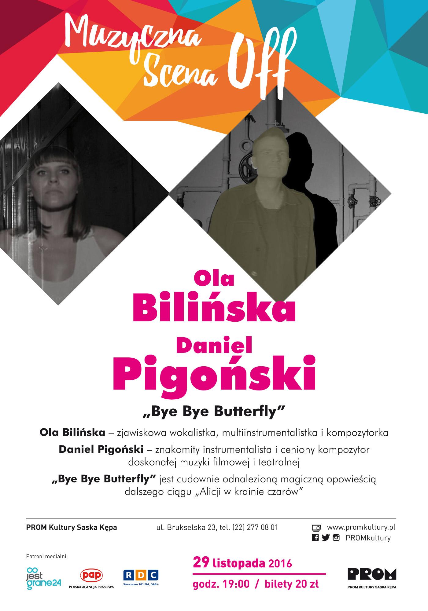 """""""Bye Bye Butterfly"""" – plakat (źródło: materiały prasowe organizatora)"""