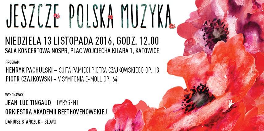 """""""Jeszcze polska muzyka"""" – plakat (źródło: materiały prasowe organizatora)"""