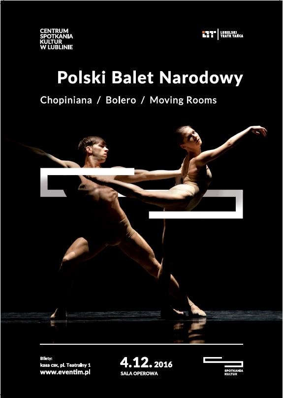 """""""Polski Balet Narodowy"""" – plakat (źródło: materiały prasowe organizatora)"""