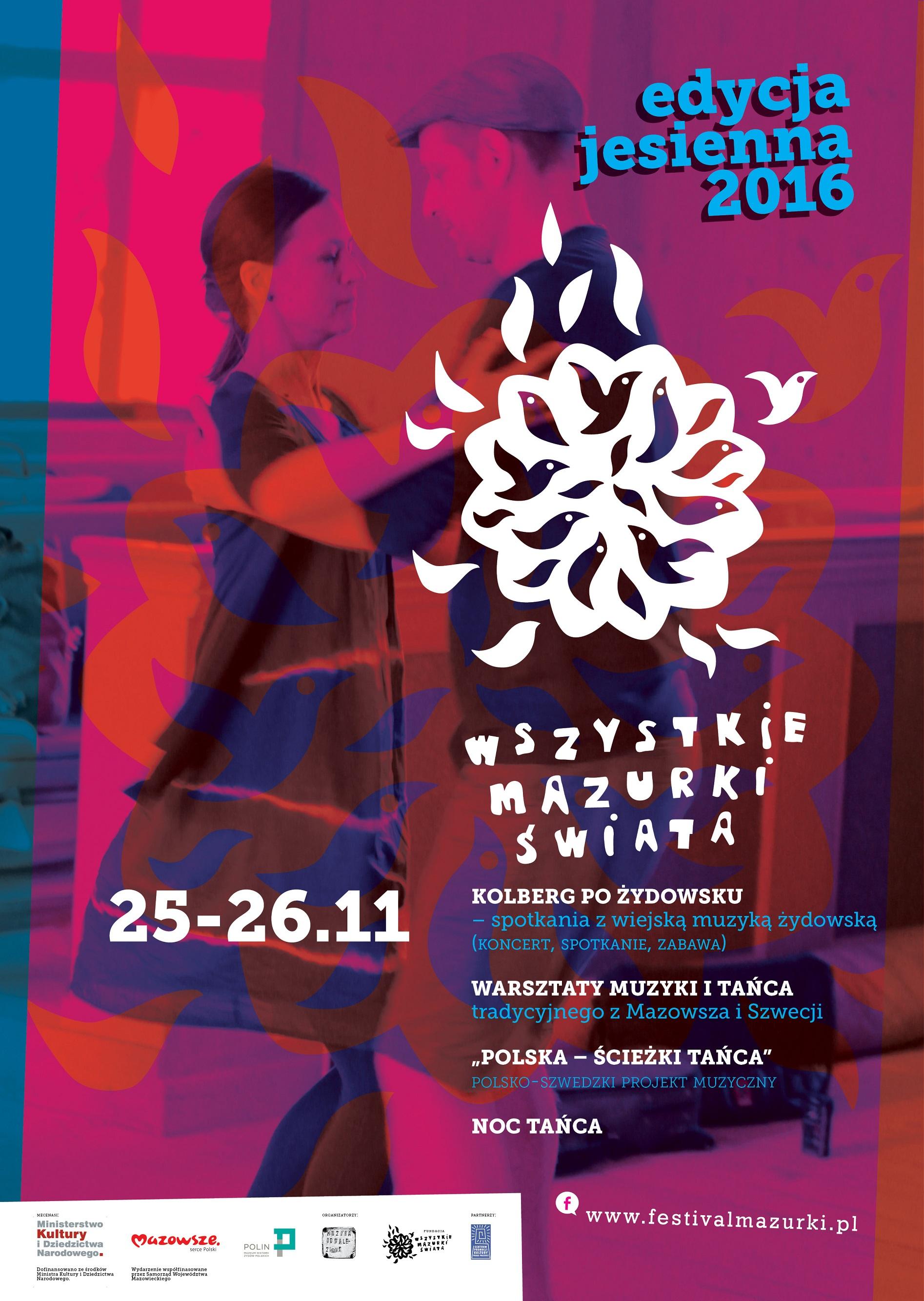 """""""Wszystkie Mazurki Świata"""" – plakat (źródło: materiały prasowe organizatora)"""