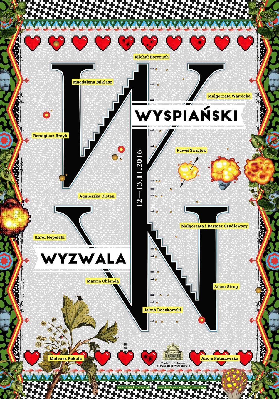 """Victor Soma, """"Wyspiański Wyzwala!"""" – plakat (źródło: materiały prasowe organizatora)"""