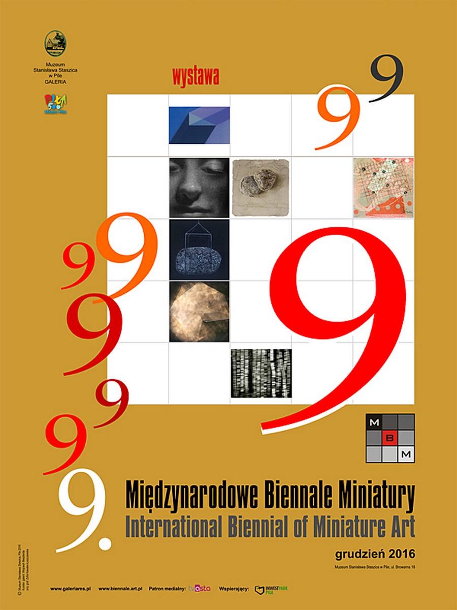 """""""9. Międzynarodowe Biennale Miniatury"""", 2016 (źródło: materiały prasowe organizatora)"""
