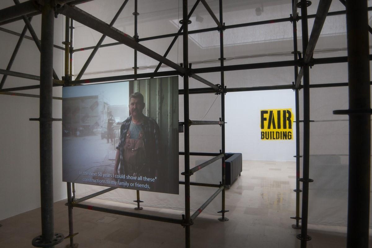 """""""Fair Building"""", Pawilon Polski na Biennale Architektury 2016, fot. Maciej Jelonek (źródło: materiały prasowe organizatora)"""
