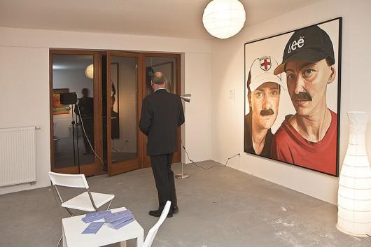 """""""Carpe diem"""", wystawa z Kolekcji Sztuki Galerii Bielskiej BWA, apartamenty Sfery, Bielsko-Biała, 2011 (źródło: materiały prasowe organizatora)"""
