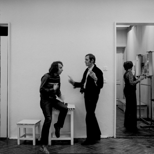 Druga Grupa, Galeria Foksal, 1972, fot. J.M. Stokłosa (źródło: materiały prasowe organizatora)