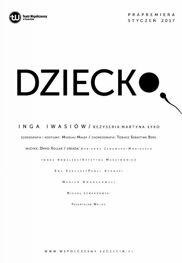 """""""Dziecko"""", reż. Martyna Łyko (źródło: materiały prasowe teatru)"""