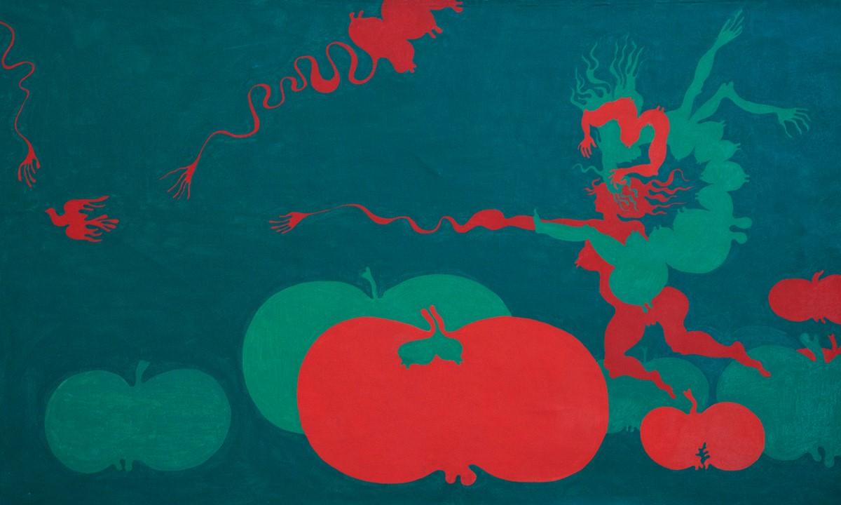 """Jan Dobkowski, """"Mój światek"""", 1970 (źródło: materiały prasowe organizatora)"""
