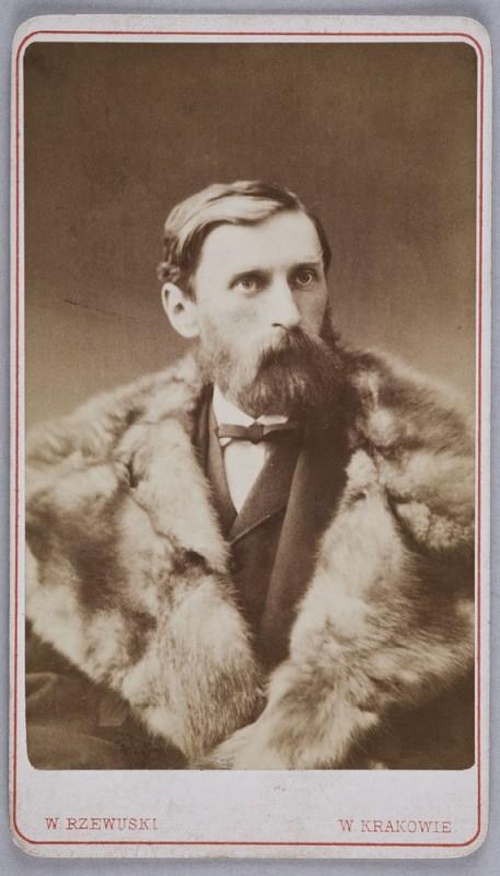 """""""Adam Asnyk"""", Kraków, ok. 1874, fot. Paweł Czernicki (źródło: materiały prasowe organizatora)"""