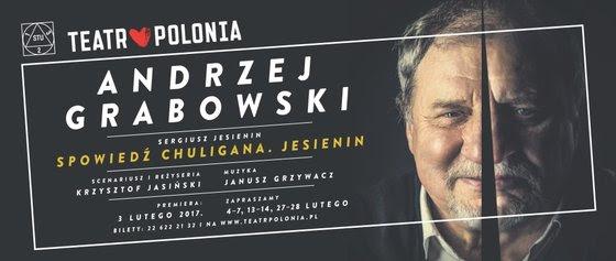 """""""Spowiedź chuligana. Jasienin"""", reż. Krzysztof Jasiński (źródło: materiały prasowe teatru)"""