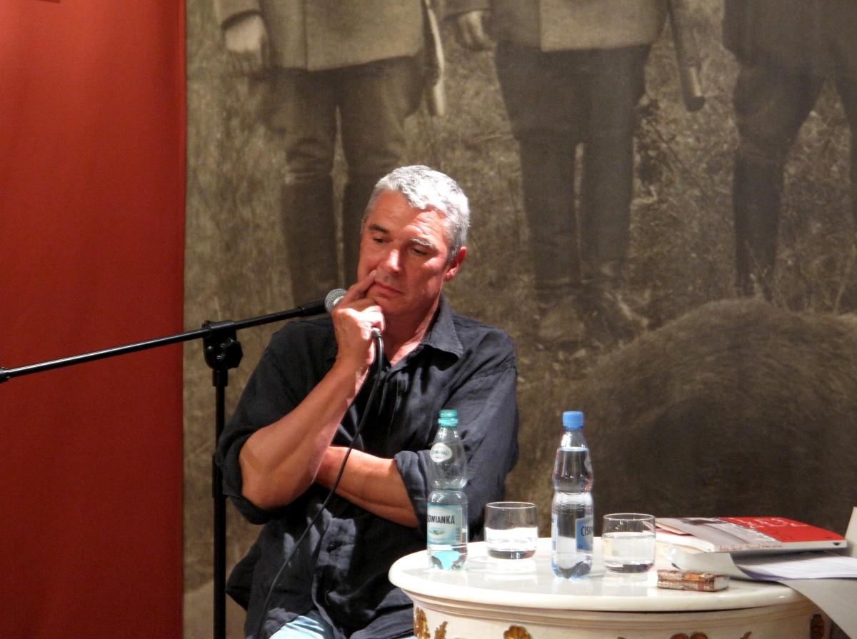 Andrzej Stasiuk, fot. E. Witkowska (źródło: materiały prasowe organizatora)