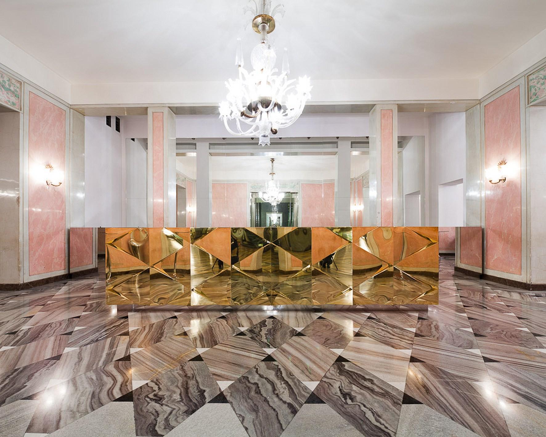 Bary we Foyer Teatru Wielkiego – Opery Narodowej w Warszawie, fot. Jakub Certowicz (źródło: materiały prasowe organizatora)