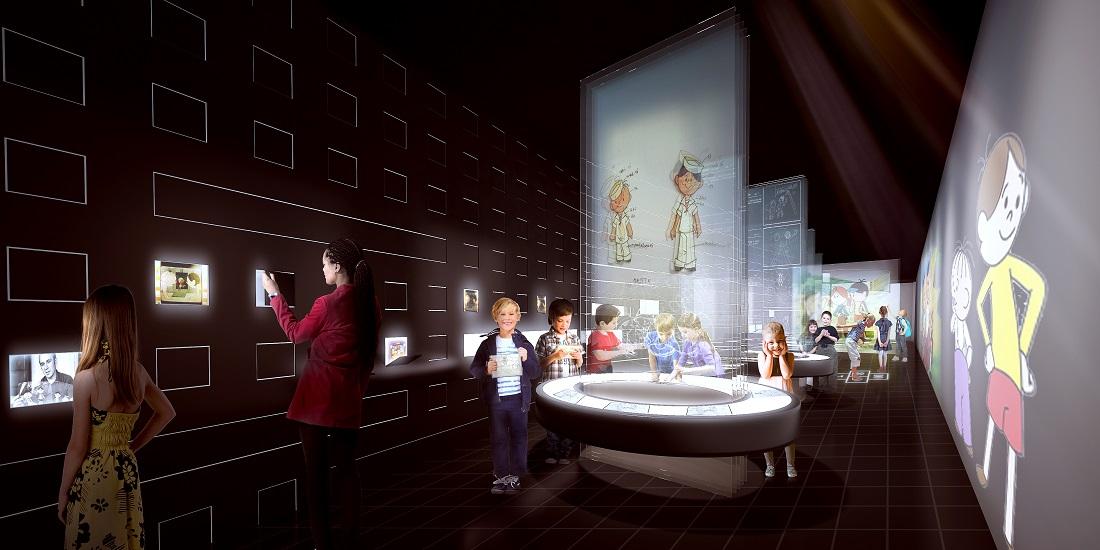 Projekt Interaktywnego Centrum Bajki i Animacji przy Studiu Filmów Rysunkowych w Bielsku-Białej, proj. Pracownia Nizio Design International (źródło: materiały prasowe organizatora)