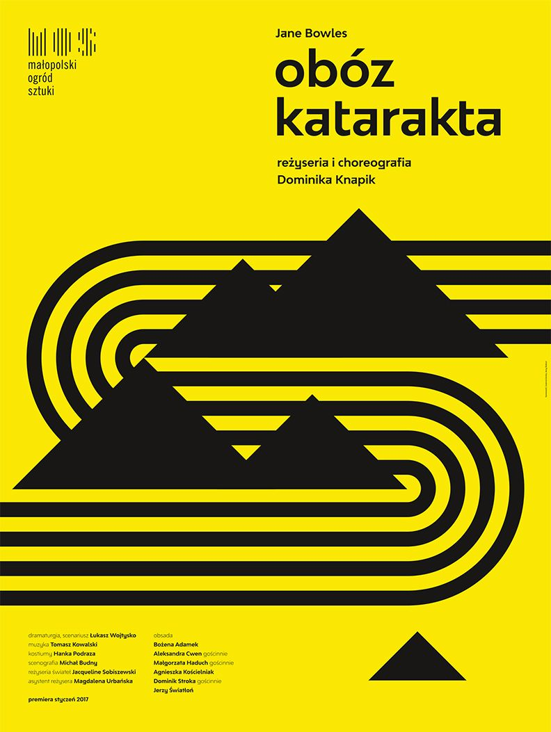 "Dominika Knapik, ""Obóz Katarakta"" (źródło: materiały prasowe teatru)"