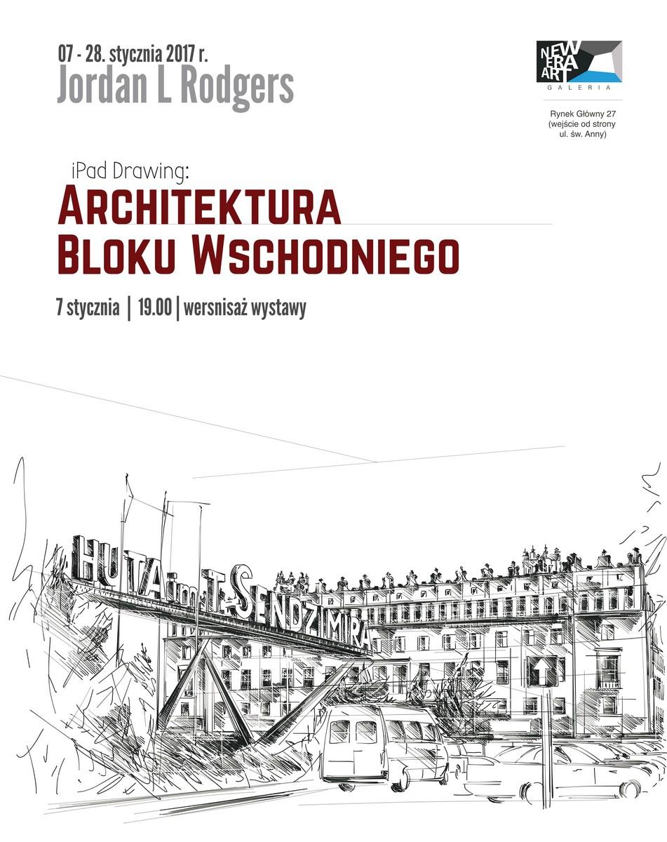 """Jordan L Rodgres, """"iPad Drawing: Architektura Bloku Wschodniego"""" (źródło: materiały prasowe organizatora)"""