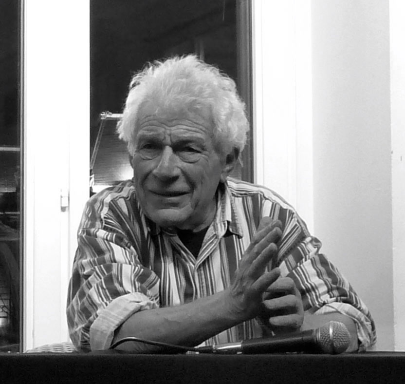 John Berger, fot. Ji-Elle (źródło: Wikimedia Commons, na licencji CC BY-SA 3.0)