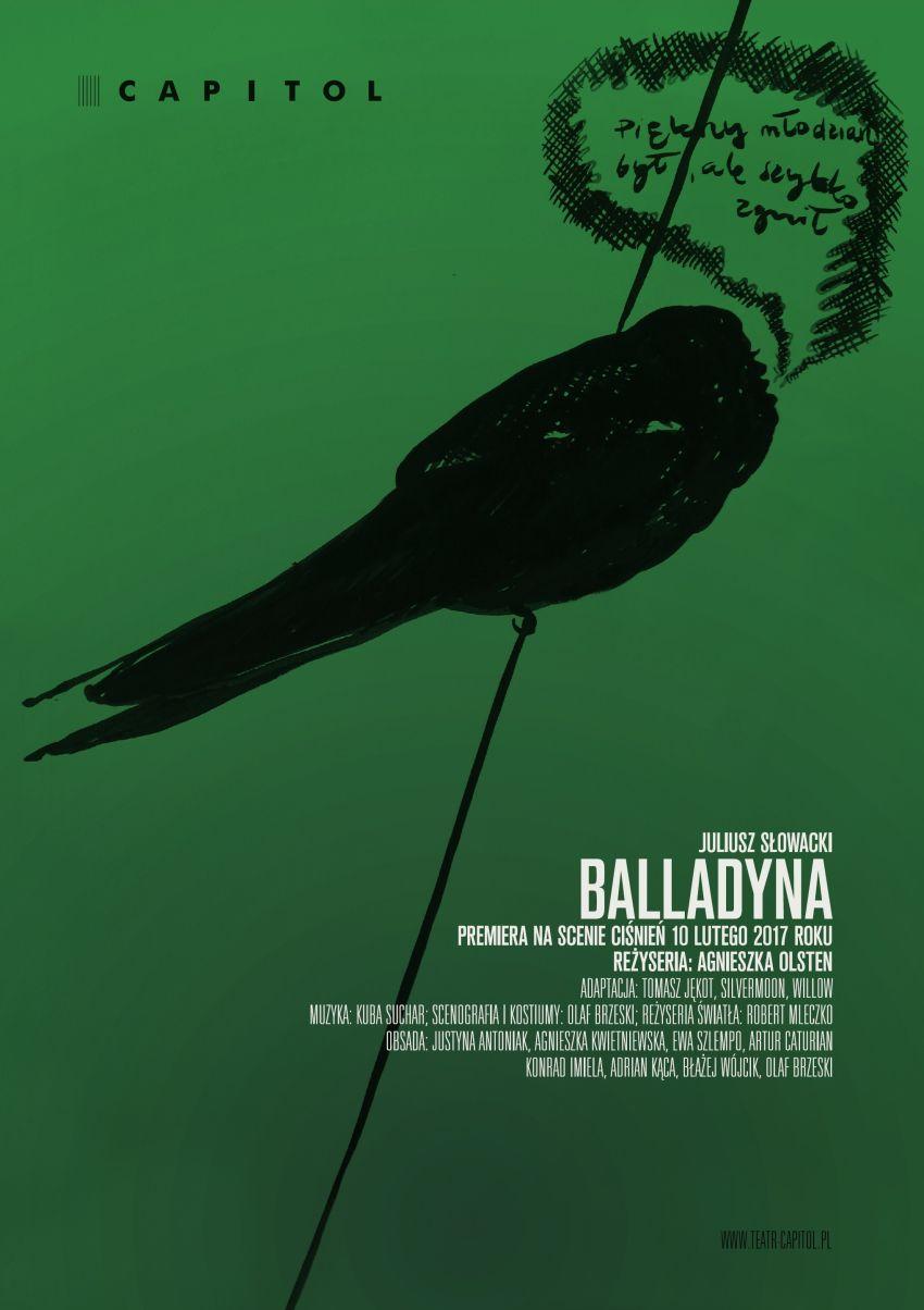 """Juliusz Słowacki, """"Balladyna"""", reż. Agnieszka Olsten (źródło: materiały prasowe teatru)"""