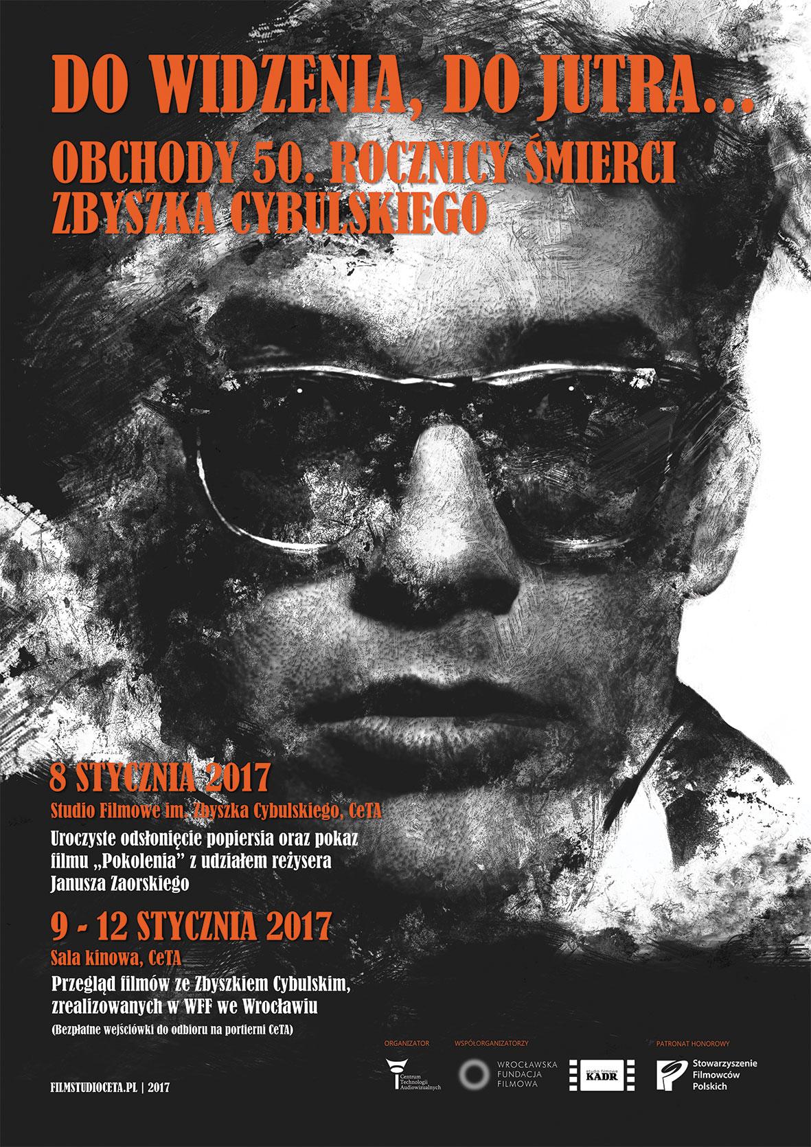 """""""Obchody 50. rocznicy śmierci Zbyszka Cybulskiego"""" (źródło: materiały prasowe organizatora)"""