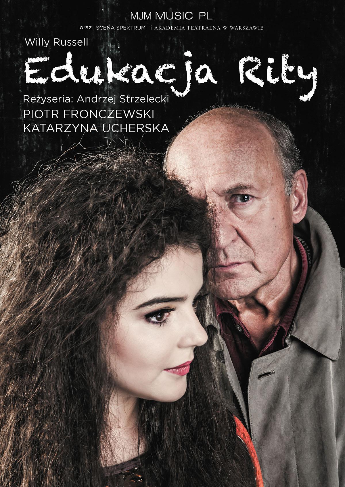 """""""Edukacja Rity"""", reż. Andrzej Strzelecki (źródło: materiały prasowe teatru)"""