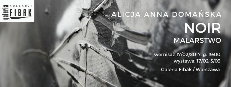 """Alicja Domańska, """"Noir"""" (źródło: materiały prasowe organizatora)"""