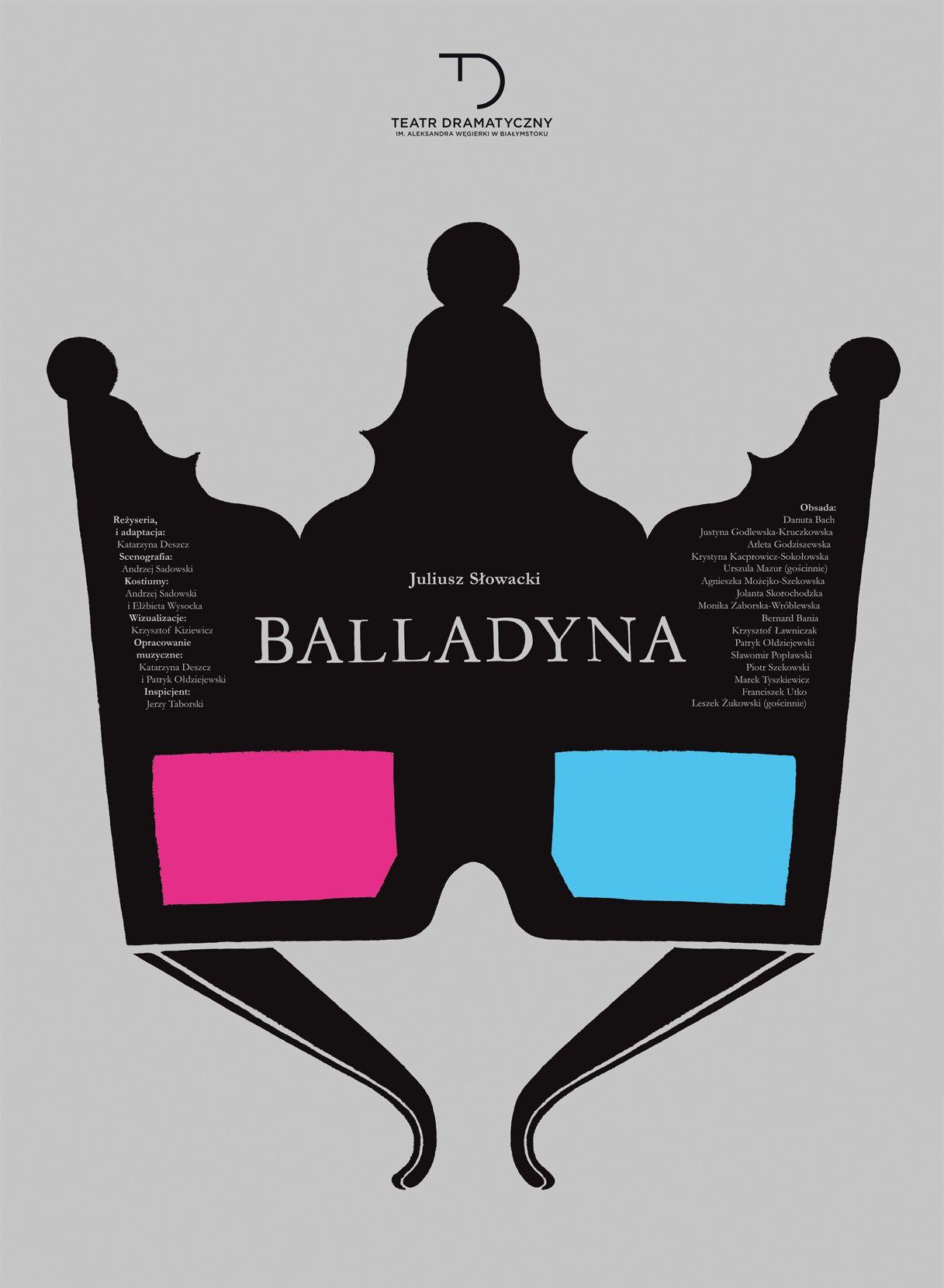 """Juliusz Słowacki, """"Balladyny"""", reż. Katarzyna Deszcz (źródło: materiały prasowe teatru)"""