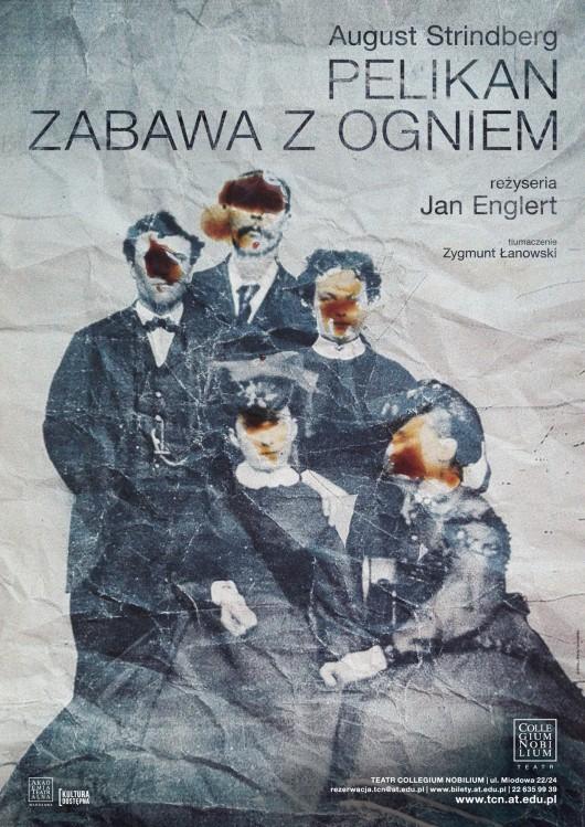 """August Strindberg, """"Pelikan"""", """"Zabawa z ogniem"""", reż. Jan Englert (źródło: materiały prasowe)"""