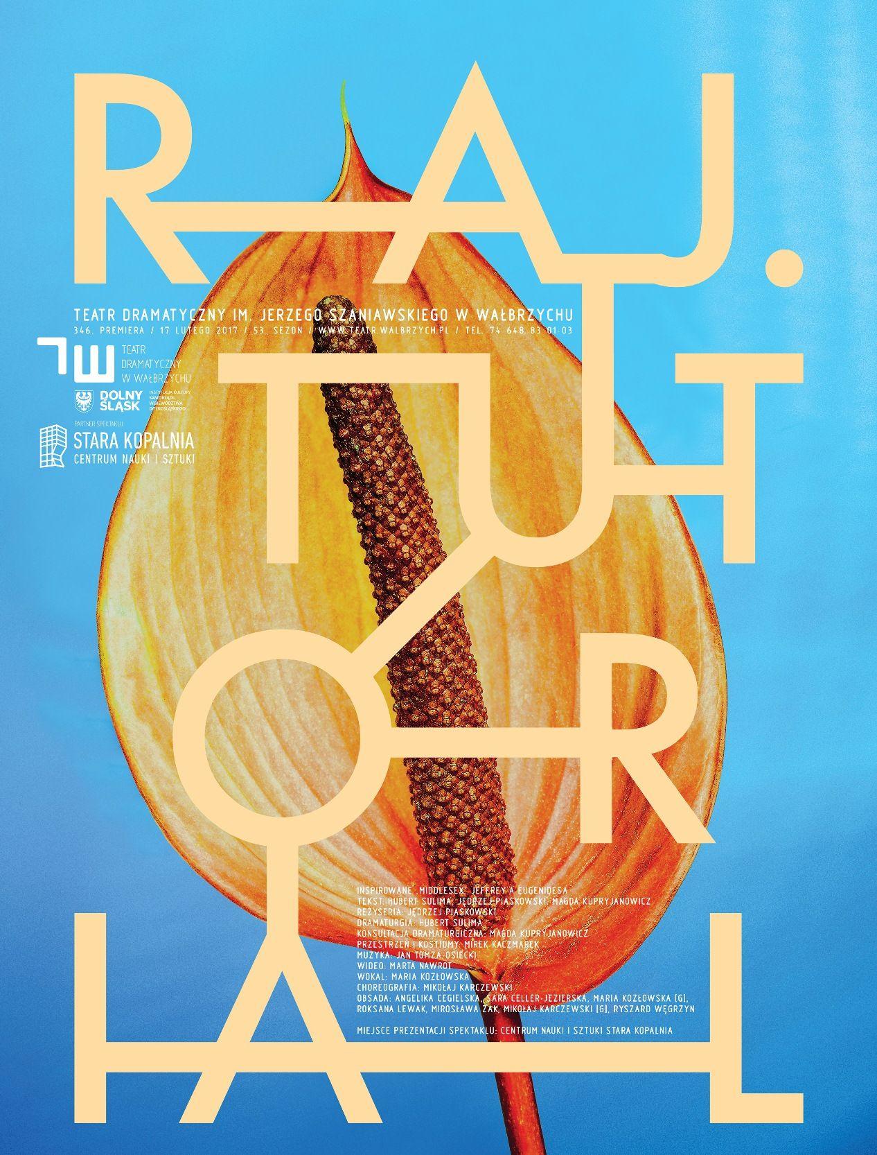 """""""Raj. Tutorial"""", reż. Jędrzej Piaskowski (źródło: materiały prasowe teatru)"""